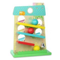 Kugelbahn aus Holz Spielzeug Baby Vilac