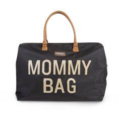 Wickeltasche Mommy Bag schwarz und gold Childhome, Geschenkidee Mutter