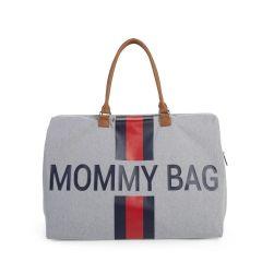 Wickeltasche Mommy Bag Grau Stripes  Childhome, Geschenkidee Mutter