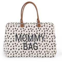 Wickeltasche XXL Mommy Bag mit Leopardenmuster Childhome, Geschenkidee Mutter