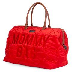 sac à langer rouge, grande taille, childhome