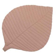 Organische Spielmatte Toddlekind, Leaf Krabbeldecke für Neugeborene, Sea Shell nude pink
