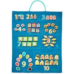 Zähltafel 45 x 58 cm für Kinder ab 3, Lilliputiens