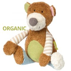 Green Bär aus Bio Baumwolle Plüschtier Sigikid