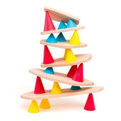 Lernspiel Piks Small 24 Stück Konstruktions- und Balance-Spielzeug ab 3 Jahren