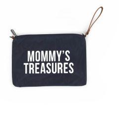 Mommy's Treasures Clutch navy Geschenkidee Muttertag Childhome