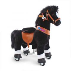 pony cycle cheval roulettes blacky
