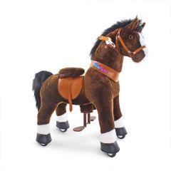 cheval roulette pony cycle chocolat dès 3 ans
