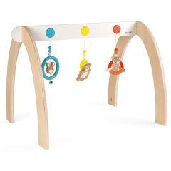 Baby Pop Spielbogen Spielzeug aus Holz Geschenkidee ab Geburt, Janod