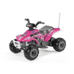Gelände-Quad Corral Bearcat Pink 6 Volt für Mädchen ab 2 jahre alt, Pre Pérego