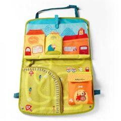 Auto-Utensilientasche für Baby und Kinder Lilliputiens