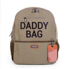 Daddy Bag Rucksack Wickeltasche für Papa Khaki