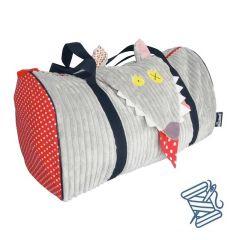 Wickeltasche oder Kinder Sport Sack, Wolf Les Déglingos