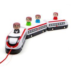 SBB Nachzieh Zug aus Holz Online Shop Schweiz, Spiela