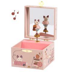 Musikalische Schmuckkästchen Moulin Roty Katze, Geschenkidee Mädchen 2 Jahren