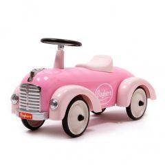 Metall Rutschauto Speedster Rosa für Mädchen ab 12 Monate Baghera