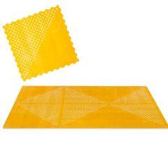 Modulare Spielmatte Toddlekind, Puzzle-Elemente aus hochwertigstem EVA-Schaum, Earth gelb
