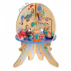 Aktivitätszentrum Spielzeug 1 Jahr  aus Holz, Gratis Versand, Baum Manhattan Toys
