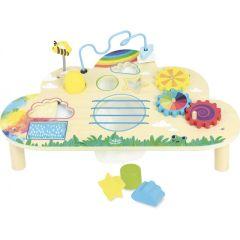 Tish mit Aktivitäten Spielzeug aus Holz ab 18 Monate Vilac