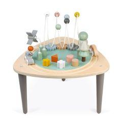Spieltisch Baby Aktivitäten Spielzeug ab 1, Tolle Baby Geschenk Idee Janod, Gratis Versand