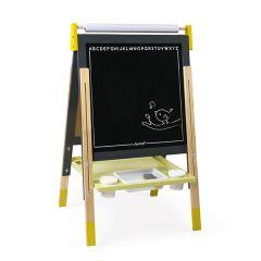 Splash Standtafel Janod, geniale Geschenkidee für Kinder von 3-8 Jahre alt, gelb