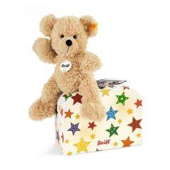 Fynn Teddybär im Koffer, Steiff Premium-Geschenkidee