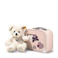 Lotte Teddybär im Koffer, Steiff Premium-Geschenkidee