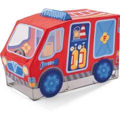 Haba Spielzelt Feuerwehr  für Kinder ab 18 Monate Geschenkidee Spielzeug