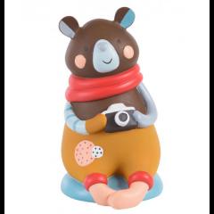 Spardose Bär Geschenkidee Junge oder Mädchen, Moulin Roty