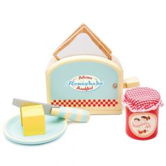 Toaster Set Set Rollenspiel Babyspielzeuge ab 3, Le Toy Van
