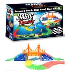 Tower Bridge Kit für flexible Autorennbahn, Magic Tracks