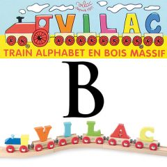 Buchstaben Wagen Vilac, B