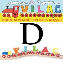 Buchstaben Wagen Vilac, D