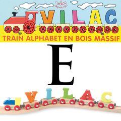 Buchstaben Wagen Vilac, E