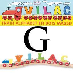 Buchstaben Wagen Vilac, G