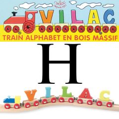 Buchstaben Wagen Vilac, H