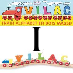 Buchstaben Wagen Vilac, I