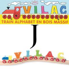 Buchstaben Wagen Vilac, J