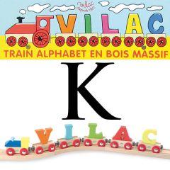 Buchstaben Wagen Vilac, K