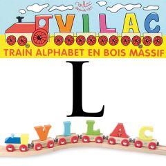Buchstaben Wagen Vilac, L