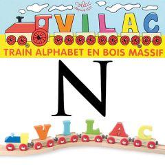 Buchstaben Wagen Vilac, N