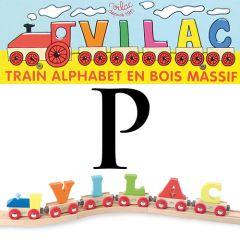 Buchstaben Wagen Vilac, P