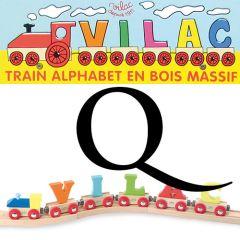 Buchstaben Wagen Vilac, Q