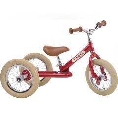 Dreirad Trybike Laufrad Stahl 2-in-1 Vintage look, ab 15 Monate