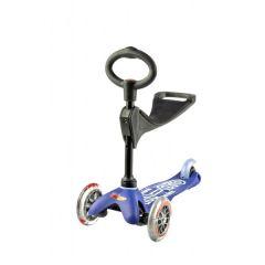 Mini Micro Scooter 3in1 Deluxe blau, von 1 bis 5 Jahre alt