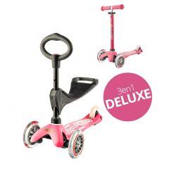 Mini Micro Scooter 3in1 Deluxe Pink, von 1 bis 5 Jahre alt