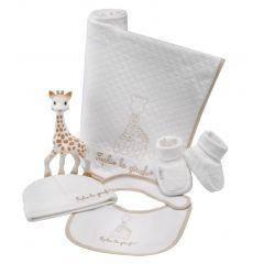 Geburtsset aus 100% Bio-Baumwolle, Sophie die Giraffe