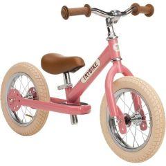 Laufrad Trybike Stahl 2-in-1 für Madchen, Vintage look rot , Gratis Versand Schweiz