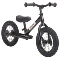 Laufrad Trybike Stahl 2-in-1 Vintage look, ab 15 Monate, schwarz