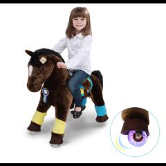 Twilight Premium Modell mit Zubehör, Ponycycle Medium mit Rollen für Junge und Mädchen von 4 bis 9 Jahre
